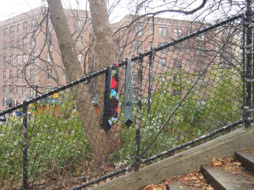Ties on a Fence 1